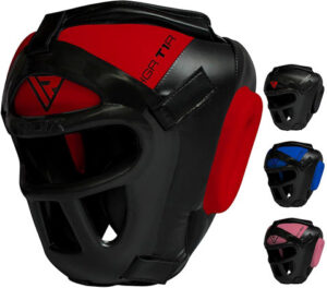 Best RDX Head Guard Maya Hide Leather Boxing Headgear