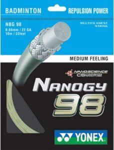 Yonex Nanogy 98 Medium Feeling Badminton String