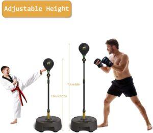 Move It Smart Punching Bag Freestanding Reflex Boxing Ball With Bluetooth Sensor