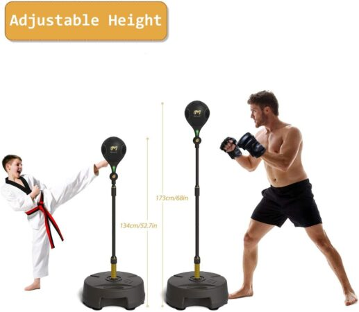 Move It Smart Punching Bag Freestanding Reflex Boxing Ball With Bluetooth Sensor