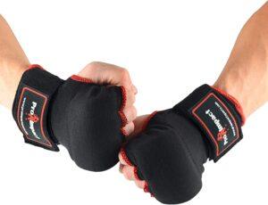 Pro Impact Boxing MMA Men & Women Kickboxing Muay Thai Quick Knuckle Wrist Wrap Protector Handwraps