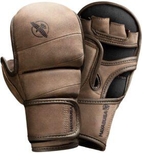 Hayabusa T3 LX Italian Leather 7oz MMA Sparring Training Gloves Men & Women