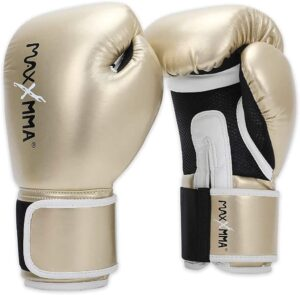 MaxxMMA Pro Style Boxing Gloves for Men & Women, Training Heavy Bag Workout