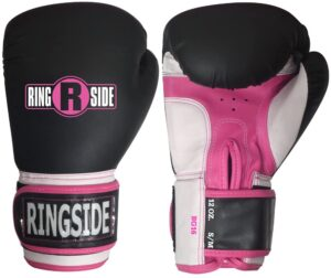 Ringside Pro Style Boxing Training Gloves Kickboxing Muay Thai Gel Sparring Punching Bag Mitts